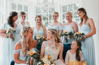 Hannah & Her Bridesmaids