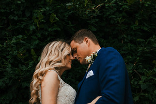 Hannah & Reed After Ceremony