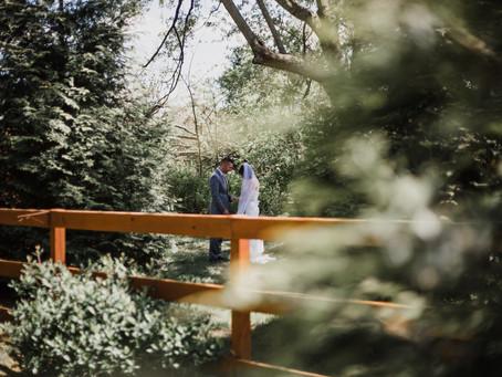 Beautiful Spring Wedding at Samuel Cedars