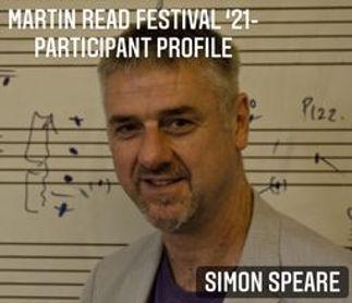 Participant Profile cover - Simon Speare