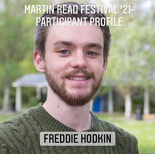 Participant Profile cover - Freddie Hodk