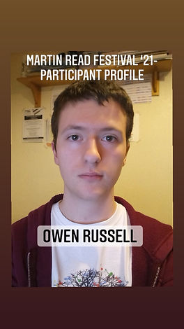 Participant Profile cover - Owen Russell