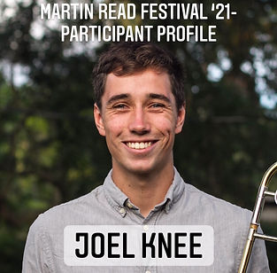 Participant Profile cover - Joel Knee '2