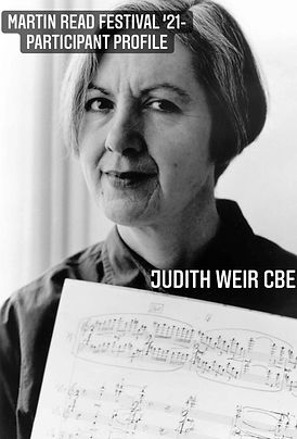 Participant Profile cover - Judith Weir