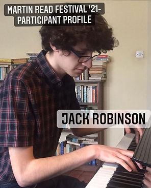 Participant Profile cover - Jack Robinso