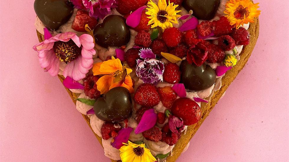 Bolo Florido de Amor