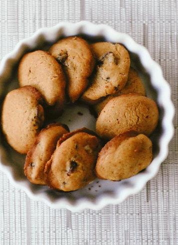 Biscoito de Chocolate Branco e Morango