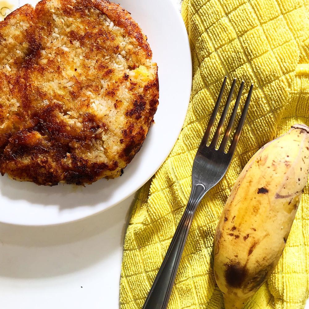 Receita Panqueca de Banana Sem Glúten