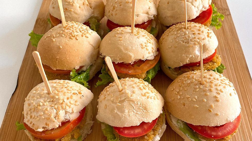 Mini Hambúrguer | Tradicional