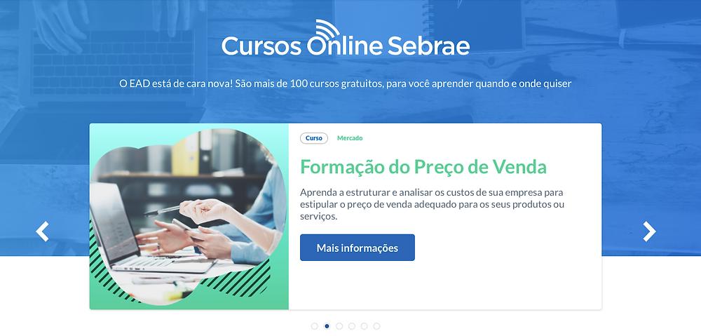 Cursos Online Sebrae
