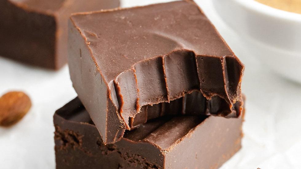 Fudge | Chocolate 56% e Amêndoas
