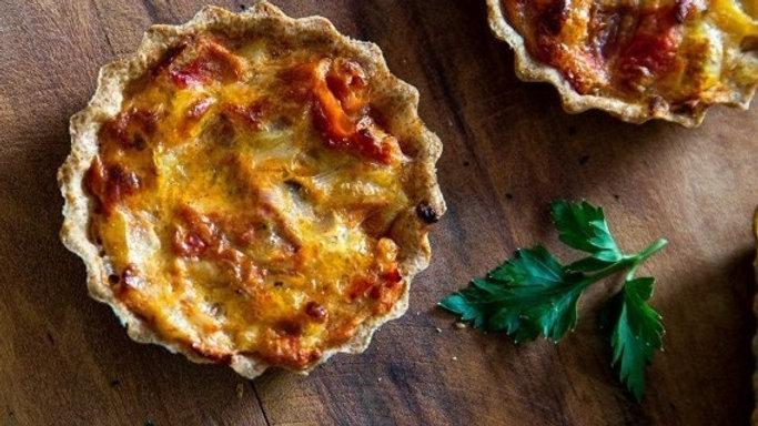 Mini Quiche | Tomate Seco