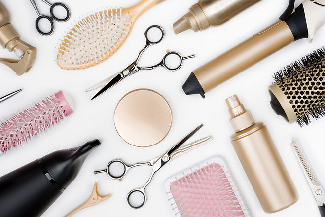 Hairdressing tools and various hairbrush