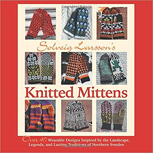 Knitted Mittens by Solveig Larsson
