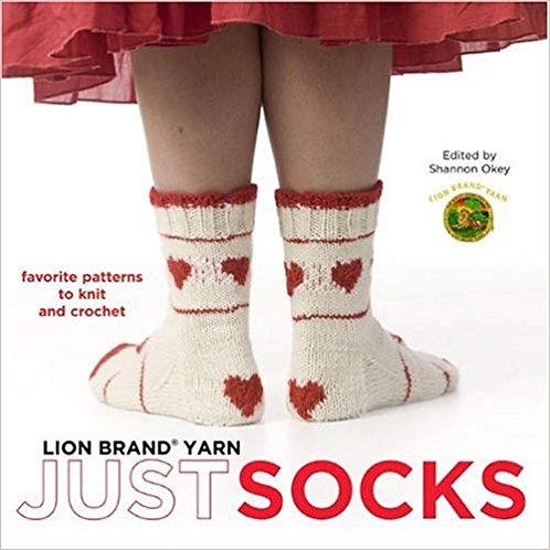 Lion Brand Yarn Just Socks