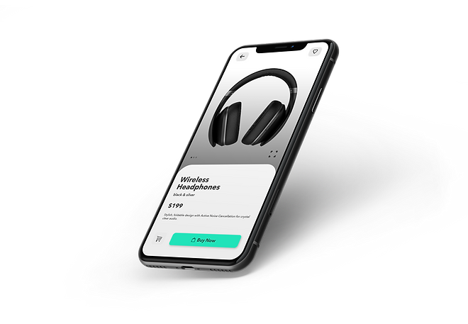 Mobile eCommerce 3D Product