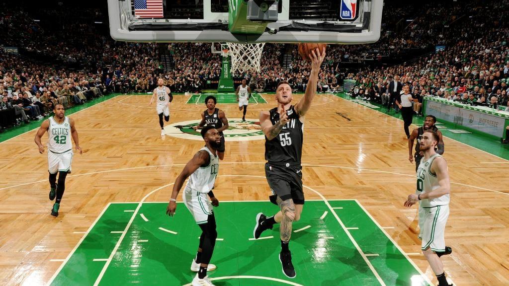Mitch Creek - Celtics Layup