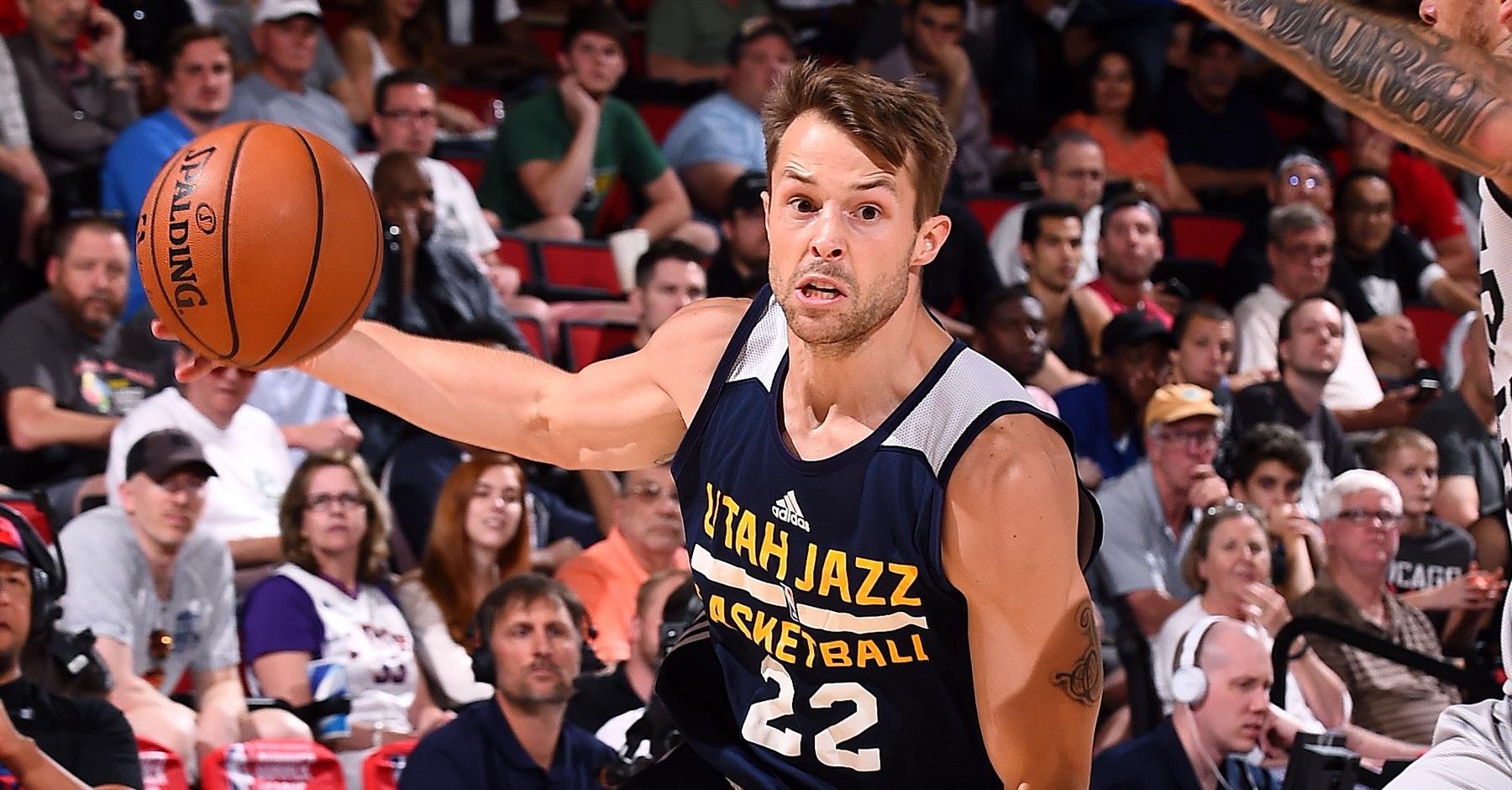 Nathan Sobey - Utah Jazz 2