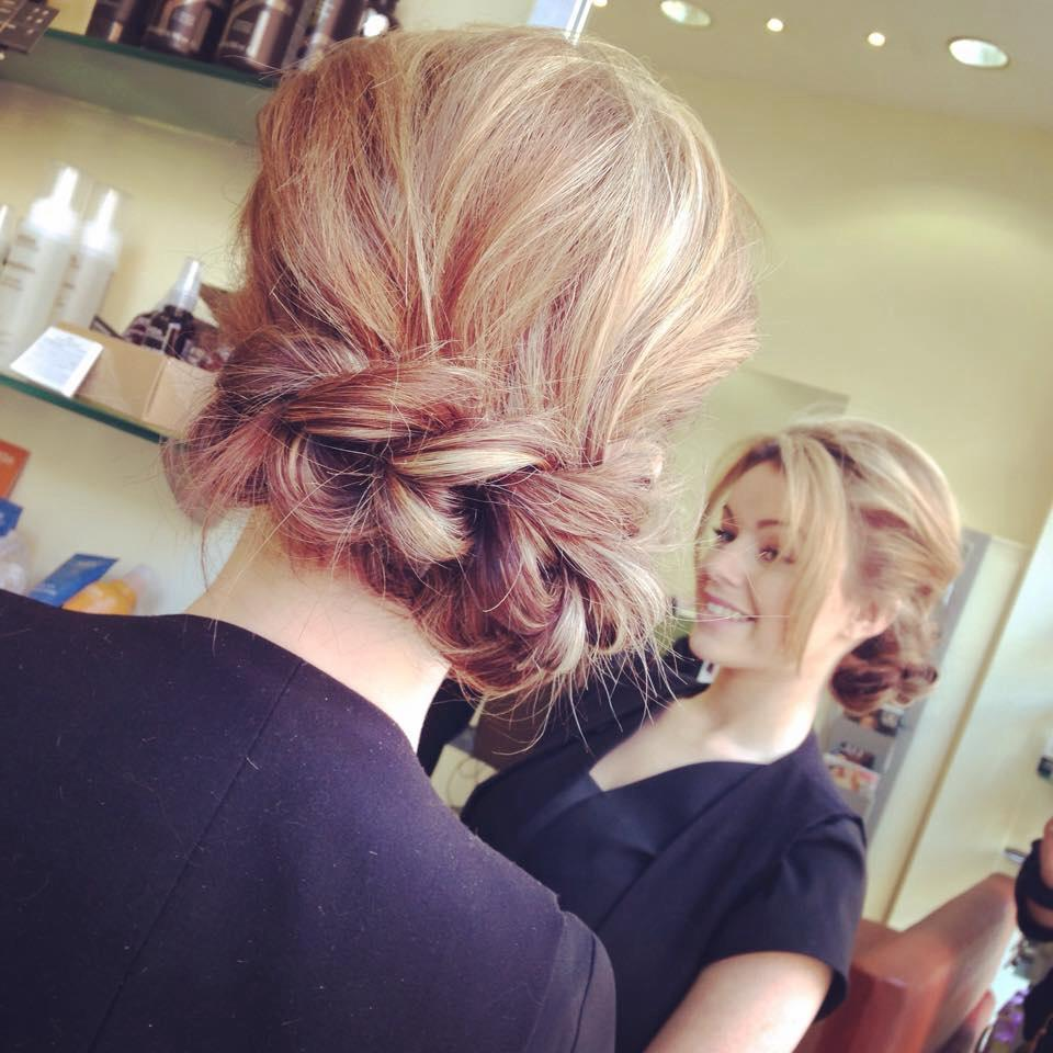 Pulled out braid