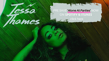 PRE SAVE 'Alone At Parties' NOW ON SPOTI