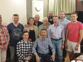 Встреча Гранд Мастера Хоанг Чыонг Занга с представителями Школ Восточных единоборств Санкт-Петербург