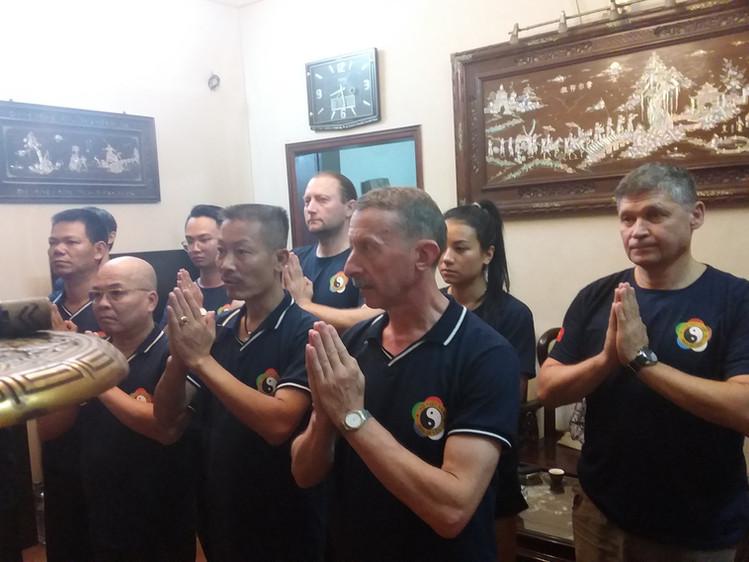 Церемония поклонения Мастерам