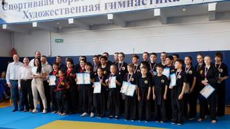 Общее фото участников и судей