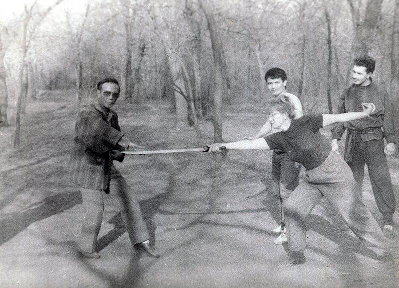 Техника работы против меча Dao
