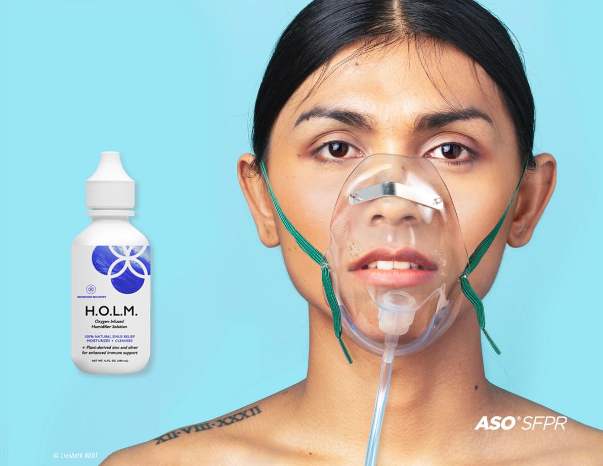 Inhalation with HOLM