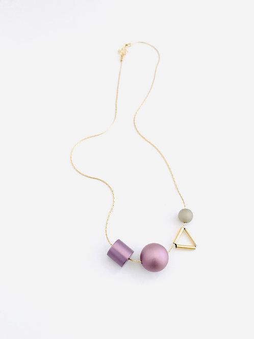 Aluminum Triangle necklace