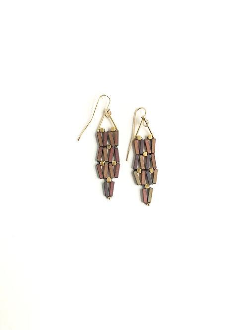 Fish Net earrings