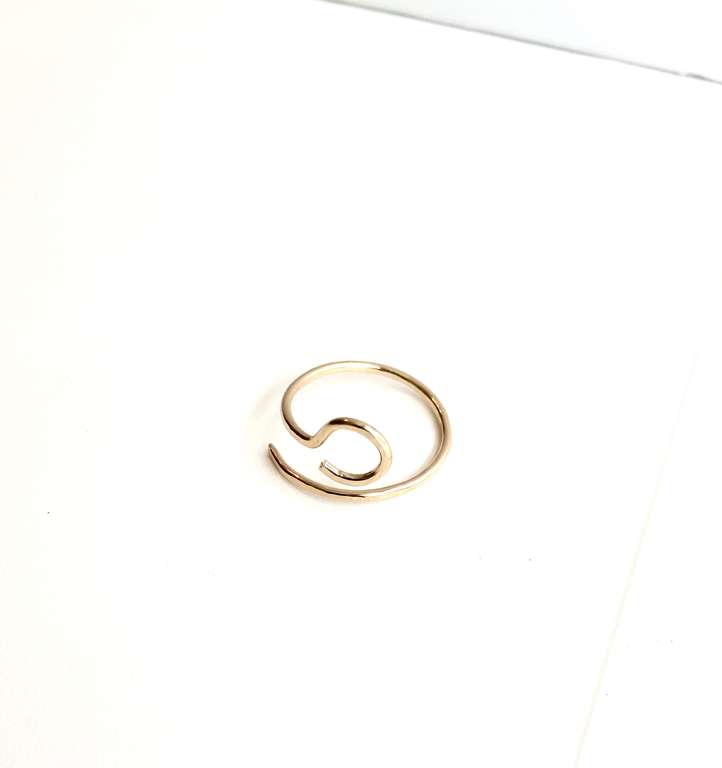 Open Circle hook ring