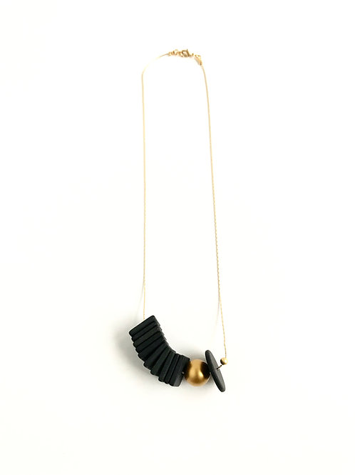 Accordian necklace