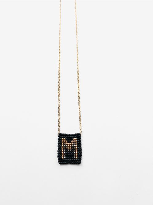 Initial pendant necklaces