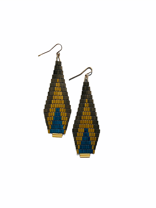 Feather dangles