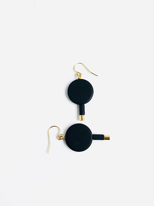 Minnow Disc Earrings