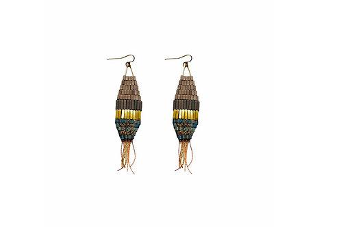 Leona Cotton Thread earrings