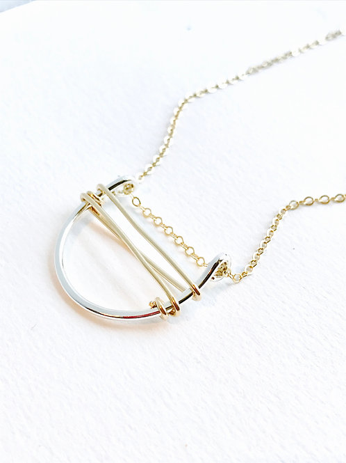 Wired necklace
