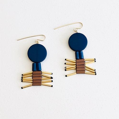 Shaggy earrings
