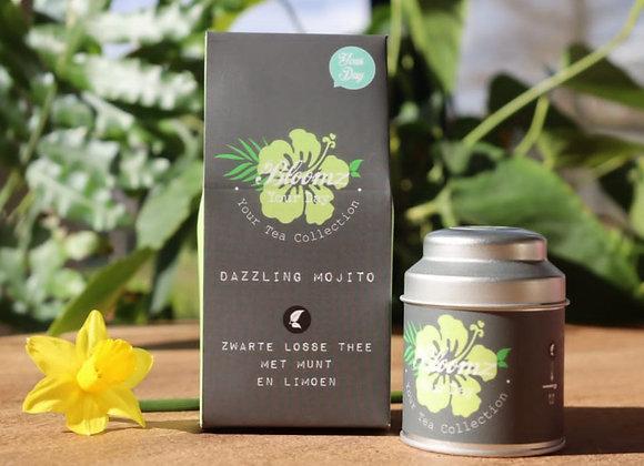 Dazzling mojito - Zwarte thee