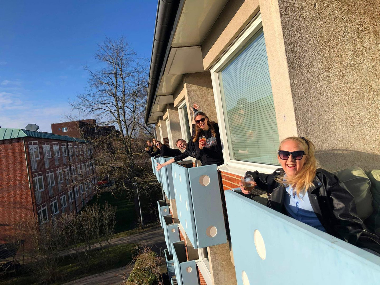 Balcony hangout