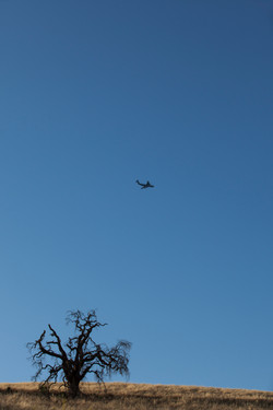 C-17 on Approach to Travis