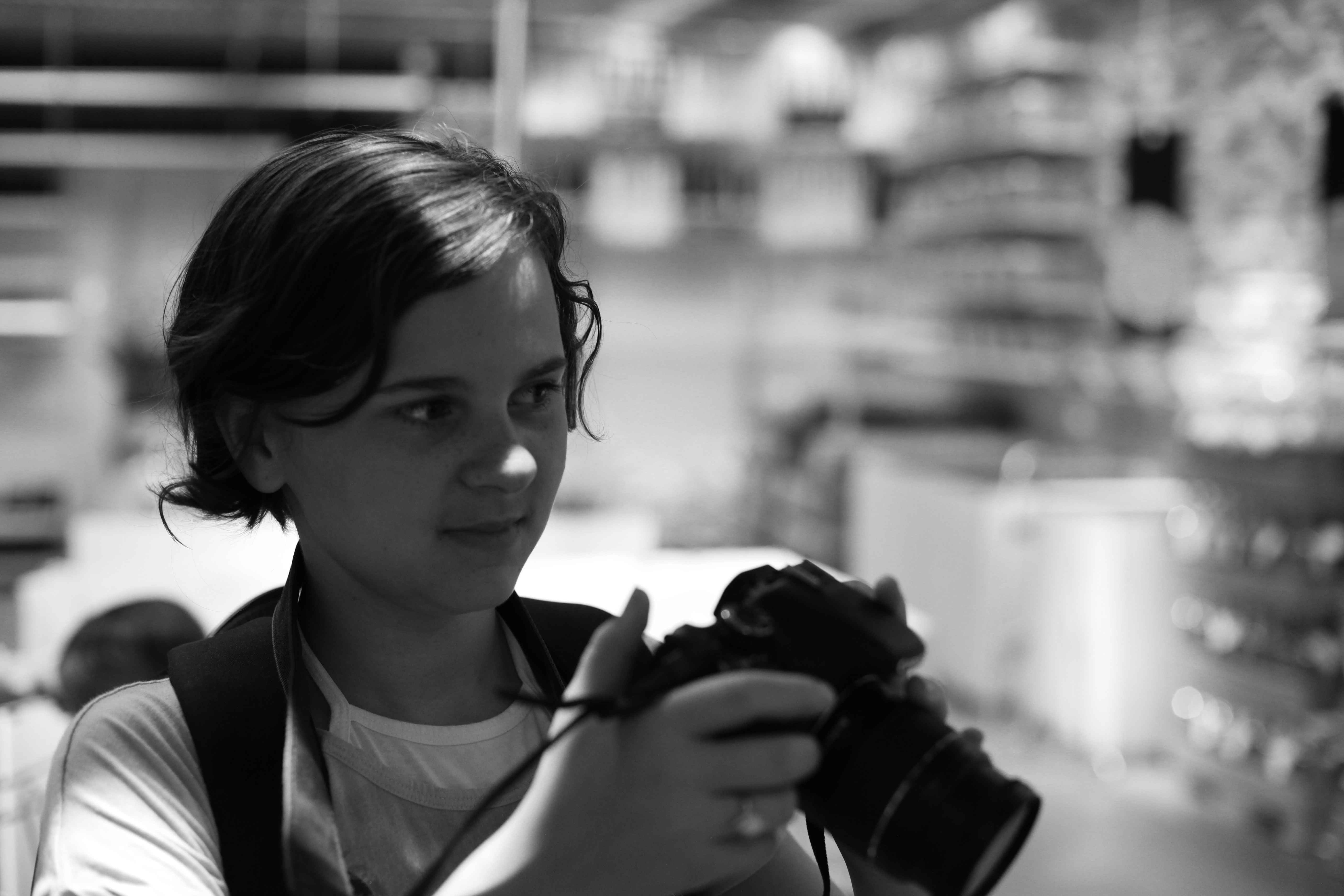 Abigail with Camera