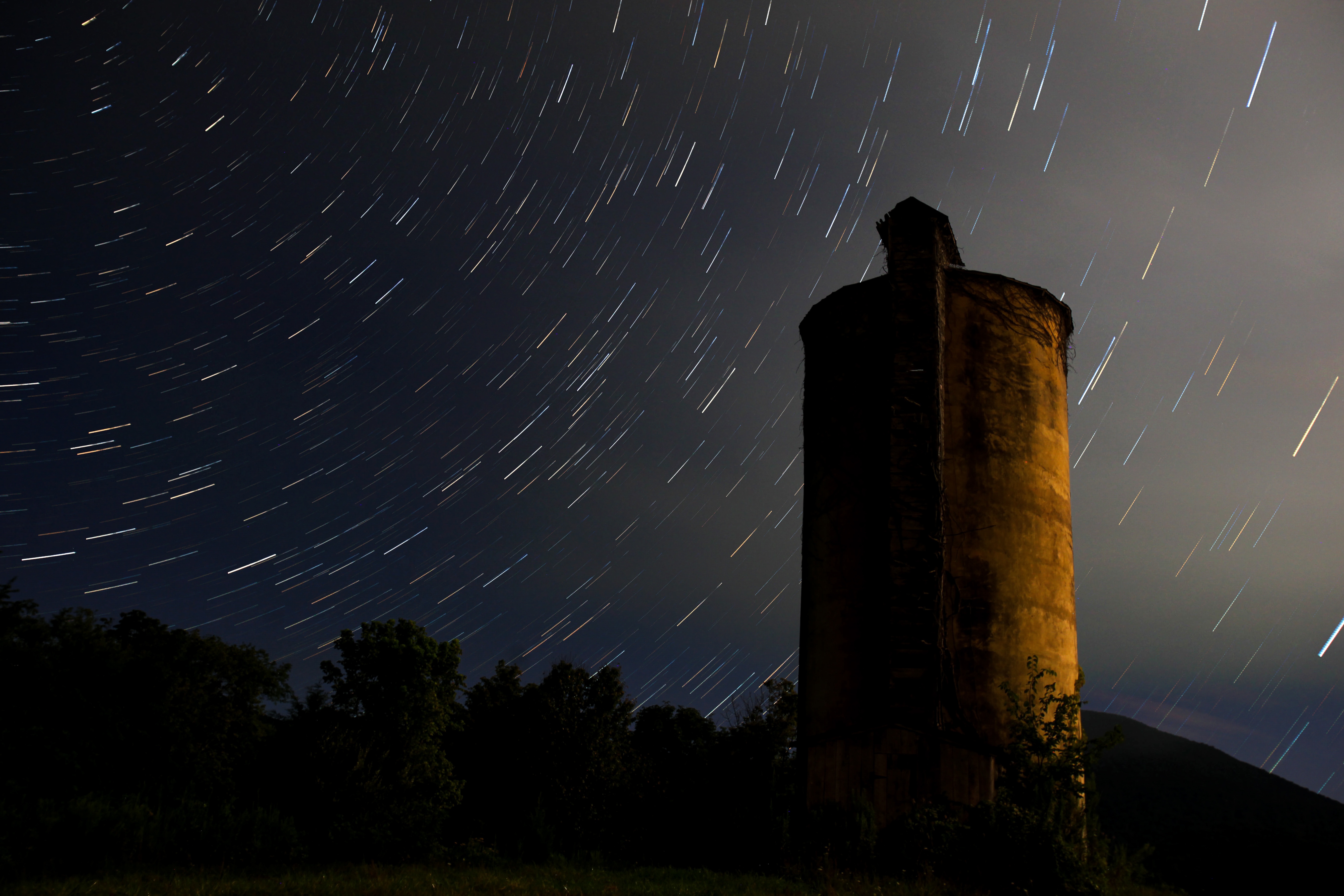 A Silo Hurdles Through the Universe