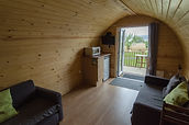 inside our glamping pods