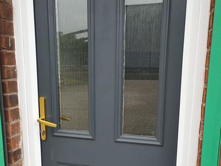Painting UPVC Doors and Windows