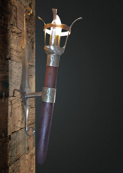 Medieval Wall Mount Light