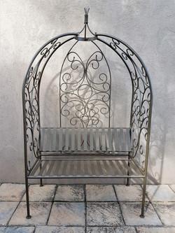 Scroll Steel Garden Bench