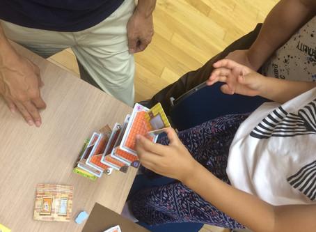 「御殿場市 竃区公民館」にてボードゲーム会