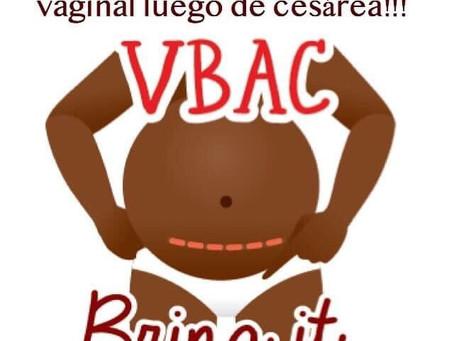 El planificar un VBAC (parto vaginal luego de un parto por cesárea) tiene muchos beneficios